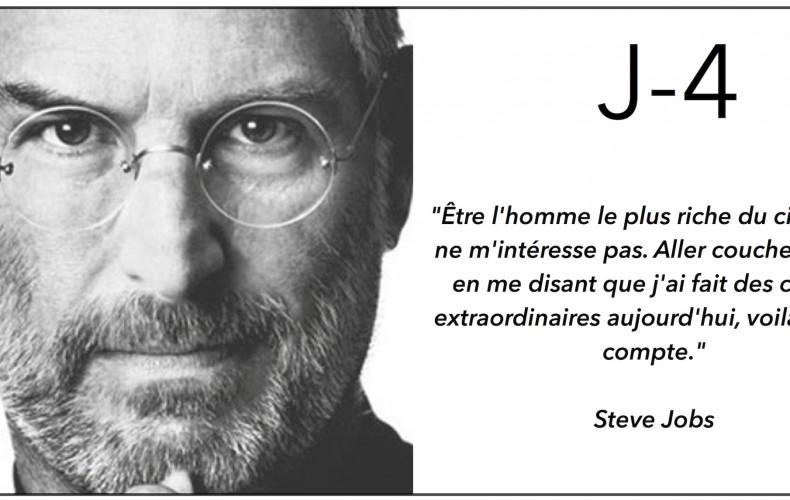 J-4 Que pensez-vous des citations de Steve Jobs ?