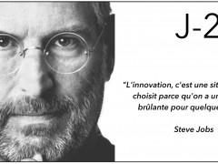 J-2 L'innovation du site Cupertino