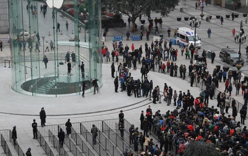 Nouvel Apple Store en Chine