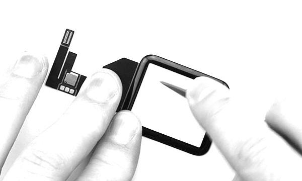 Test vidéo du verre Ion-X de l'Apple Watch