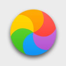Bonbon multicolore