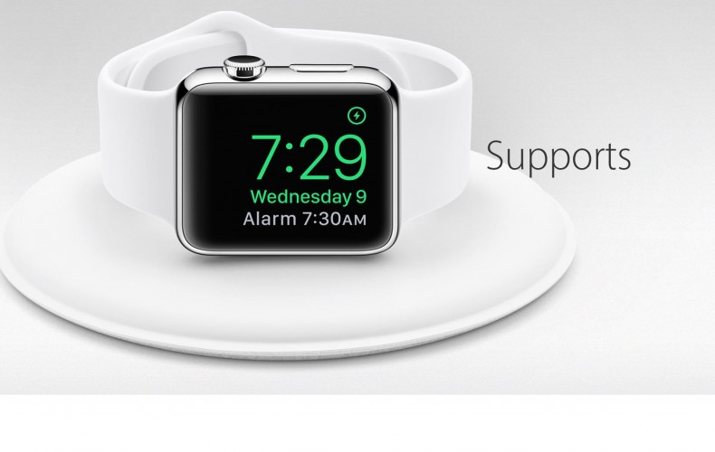 SUPPORT DE CHARGE APPLE WATCH