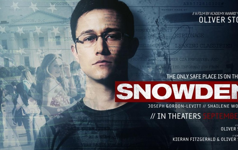 EDWARD SNOWDEN : LE FILM