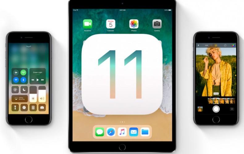 MAJ iOS 11 Aujourd'hui