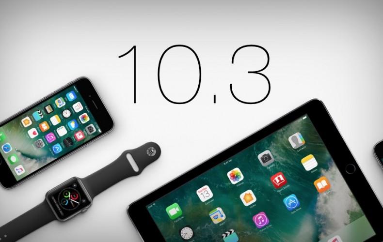 MAJ iOS 10.3.1 très importante !